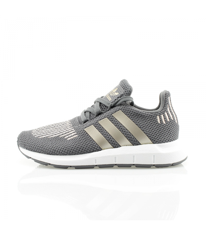 ADIDAS SWIFT RUN C GRIS