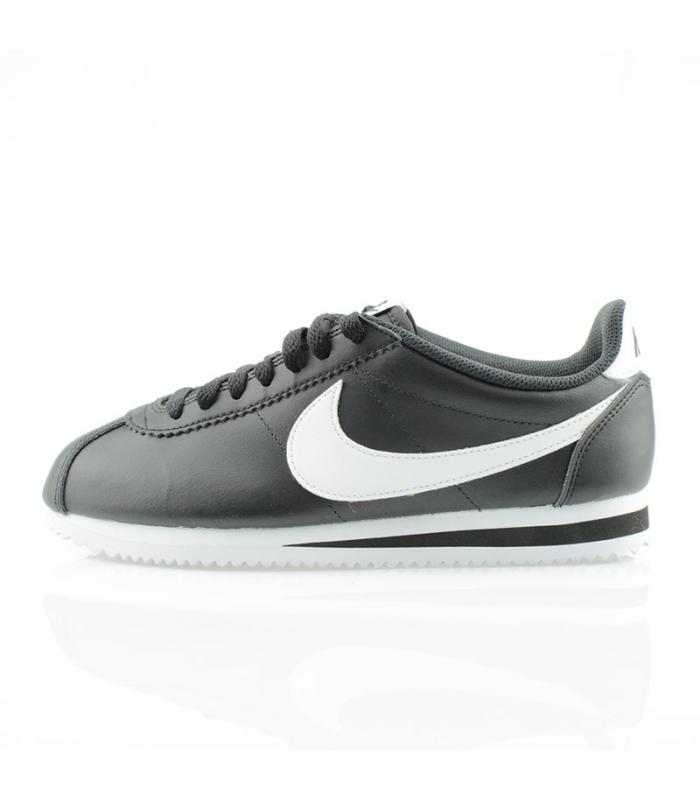 NIKE CLASSIC CORTEZ LEATHER NEGRO