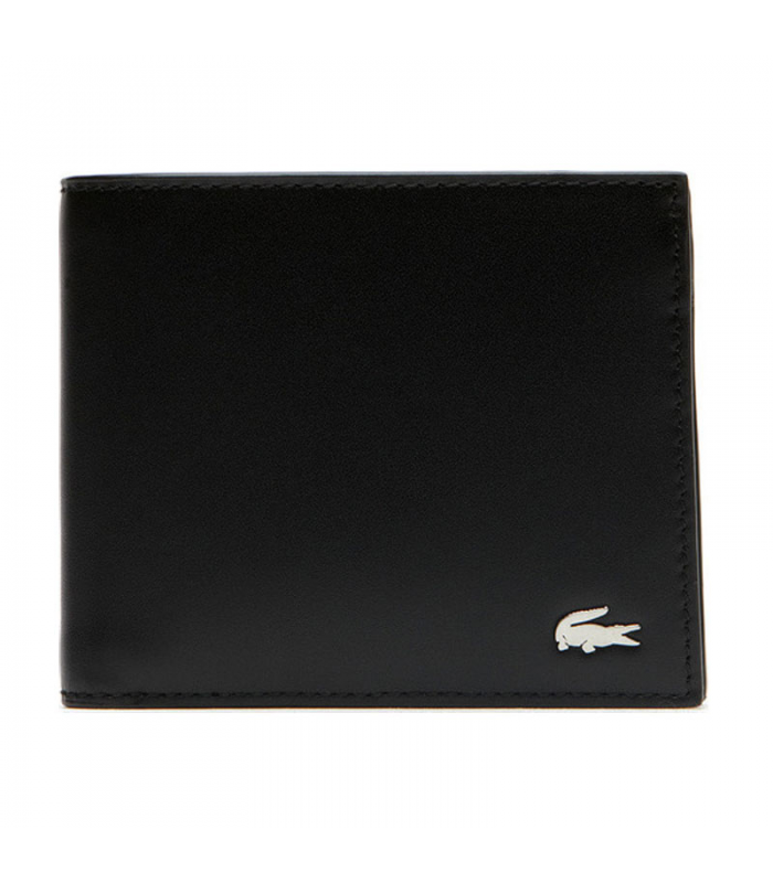 LACOSTE BILLFOLD COIN NEGRO