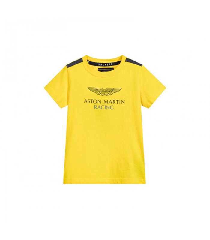 HACKETT CAMISETA CHICO AMARILLO
