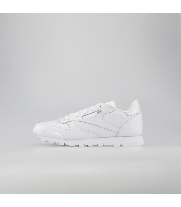 REEBOK CLASSIC LEATHER PATENT KIDS BLANCO