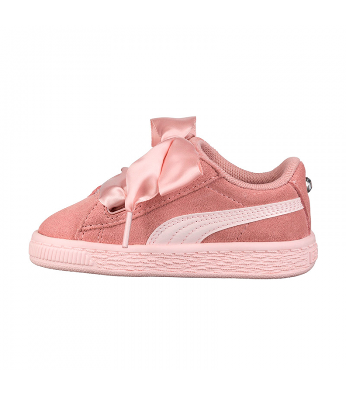 PUMA SUEDE HEARTH JEWEL PS ROSA