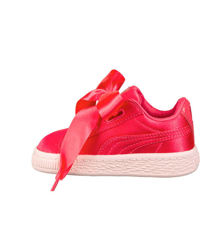 PUMA BASKET HEARTH TWEEN INF ROSA