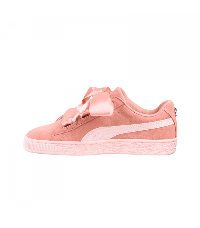 PUMA SUEDE HEARTH JEWEL JR ROSA