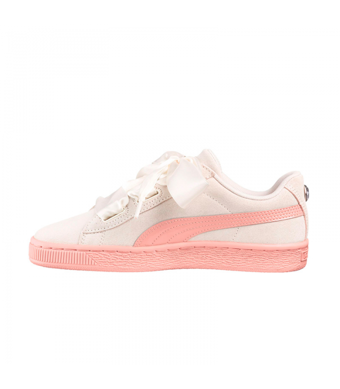 PUMA SUEDE HEARTH JEWEL JR BEIGE
