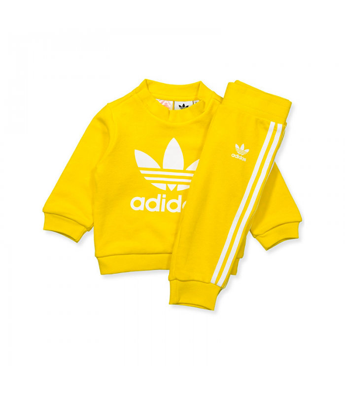 ADIDAS CHANDAL CHICO AMARILLO
