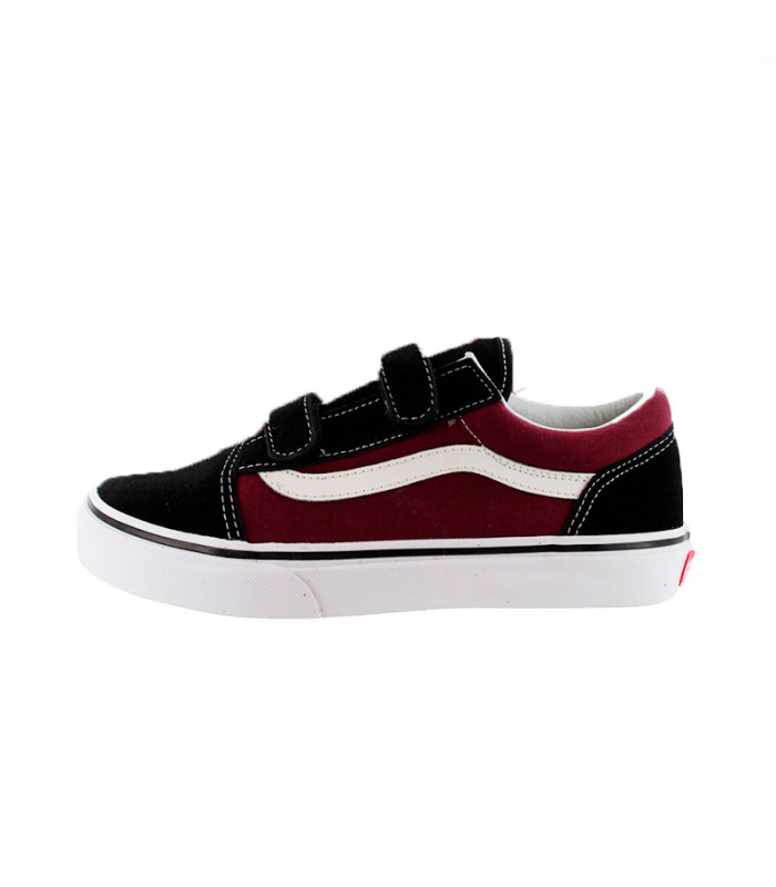VANS OLD SKOOL V POP NEGRO