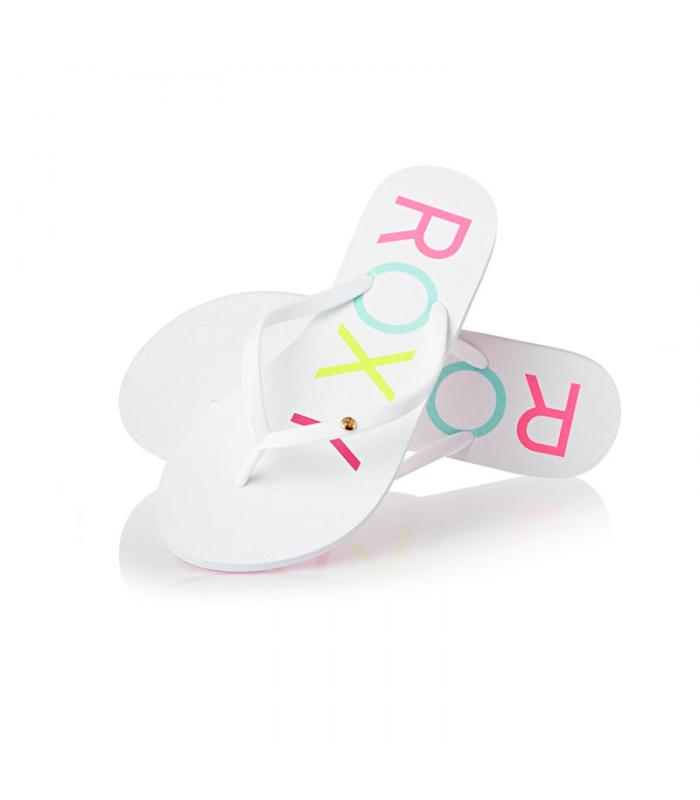 221f79f134 Roxy Viva IV White Flip Flops