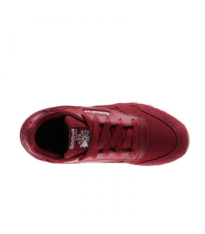 Rouge Enfant Leather Reebok Classic mI6vYgfb7y