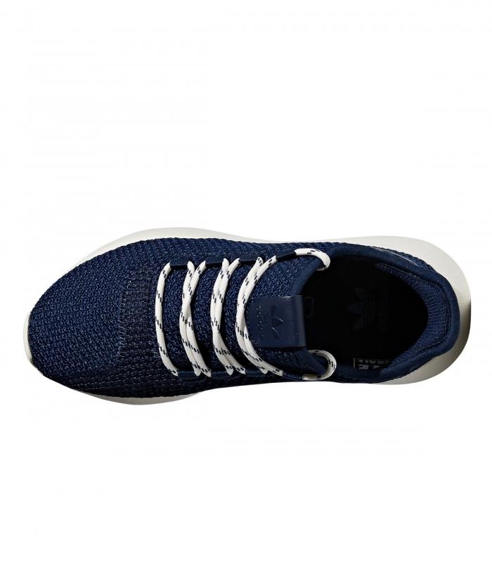new style 2a65e 68507 Adidas Tubular Shadow Navy Blue Kids