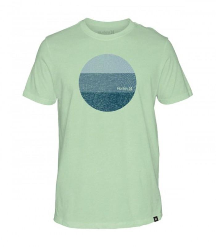 Camiseta Hurley Circular Rainforest Or Vapor