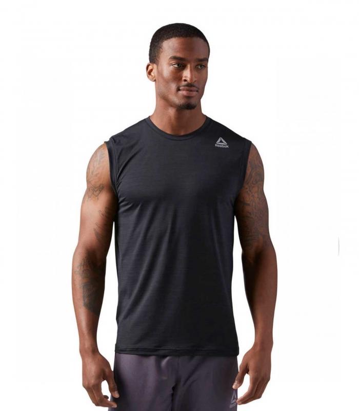 Camiseta Reebok Work ActiveChill Negro