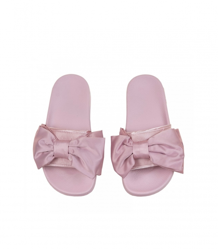 Chanclas Slydes Peep Silk Bow