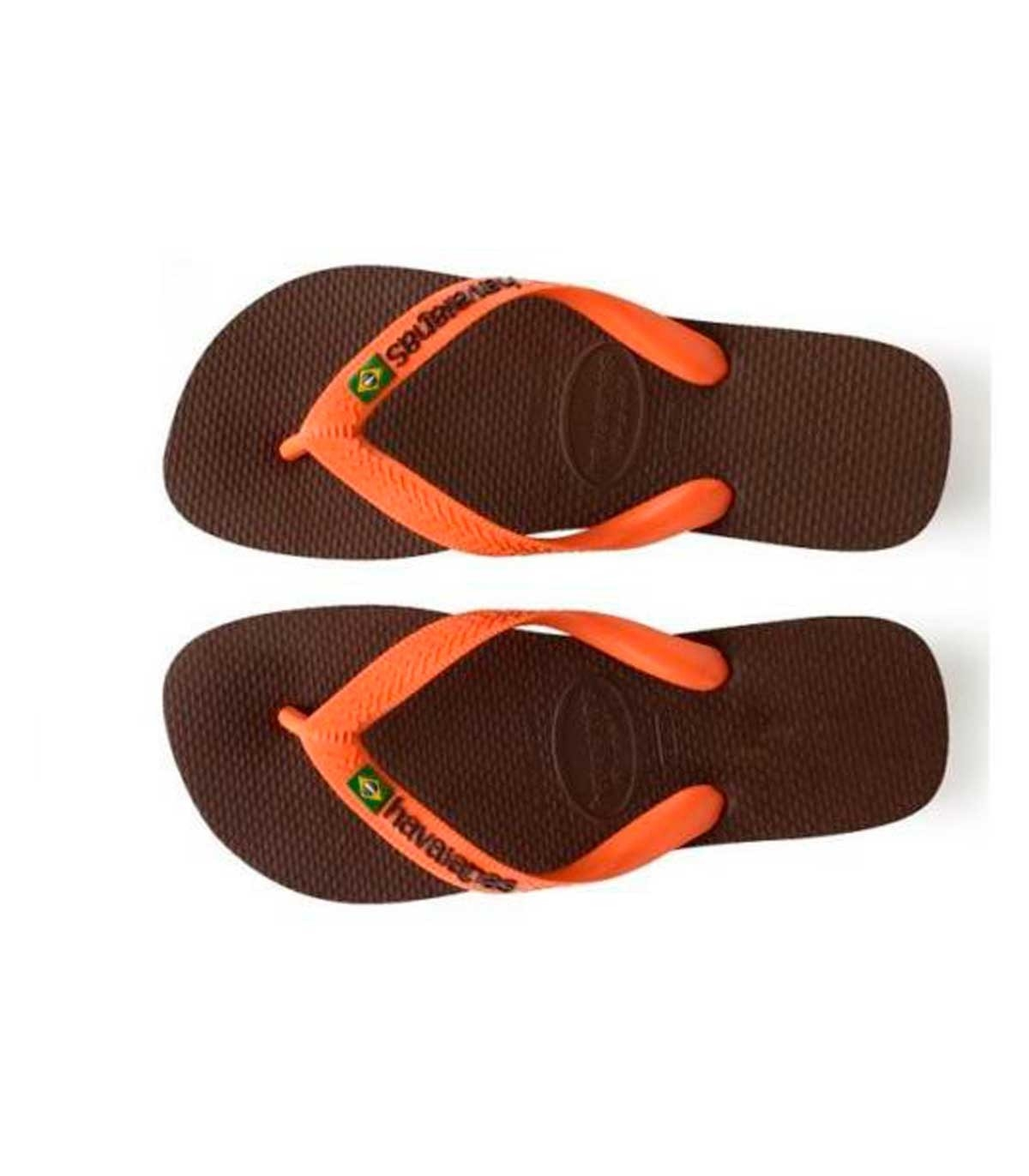 f0854fc561 Buy Havaianas dark brown Brazil flipflop