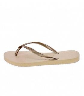 49aff9793 Buy Havaianas Slim bronze flip flops