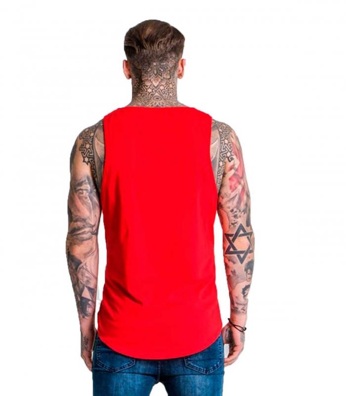 Gianni Kavanagh Camiseta Caballero Rojo