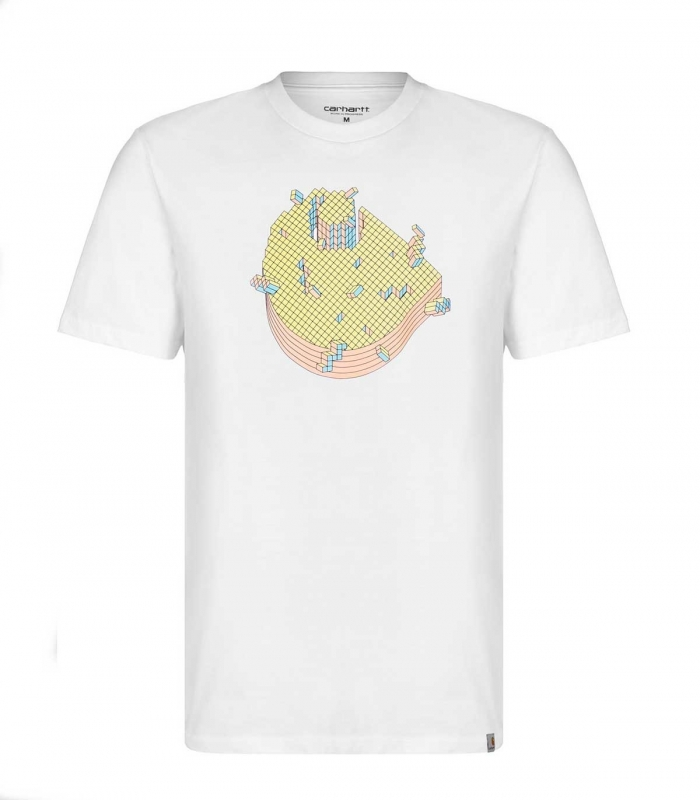 Camiseta Carhartt Pixel T-Shirt blanco