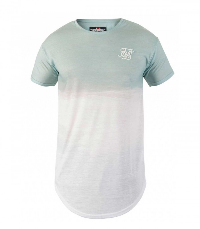 Camiseta Siksilk Curved Hem Wash Shout Out