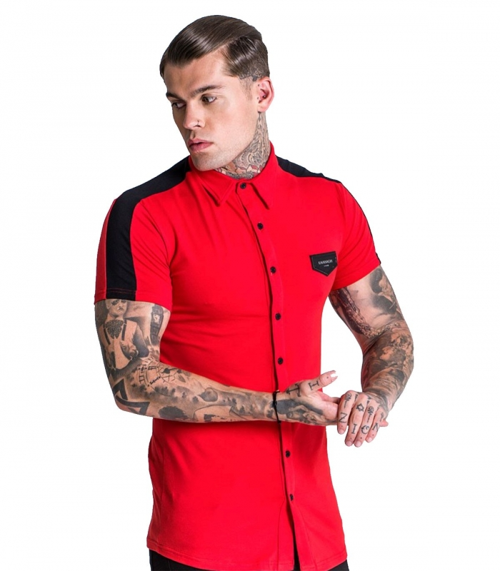 Camiseta Gianni Kavanagh Red And Black Racer Jersey Shirt
