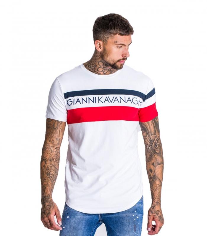 Camiseta Gianni Kavanagh Assymmetric Block Tee