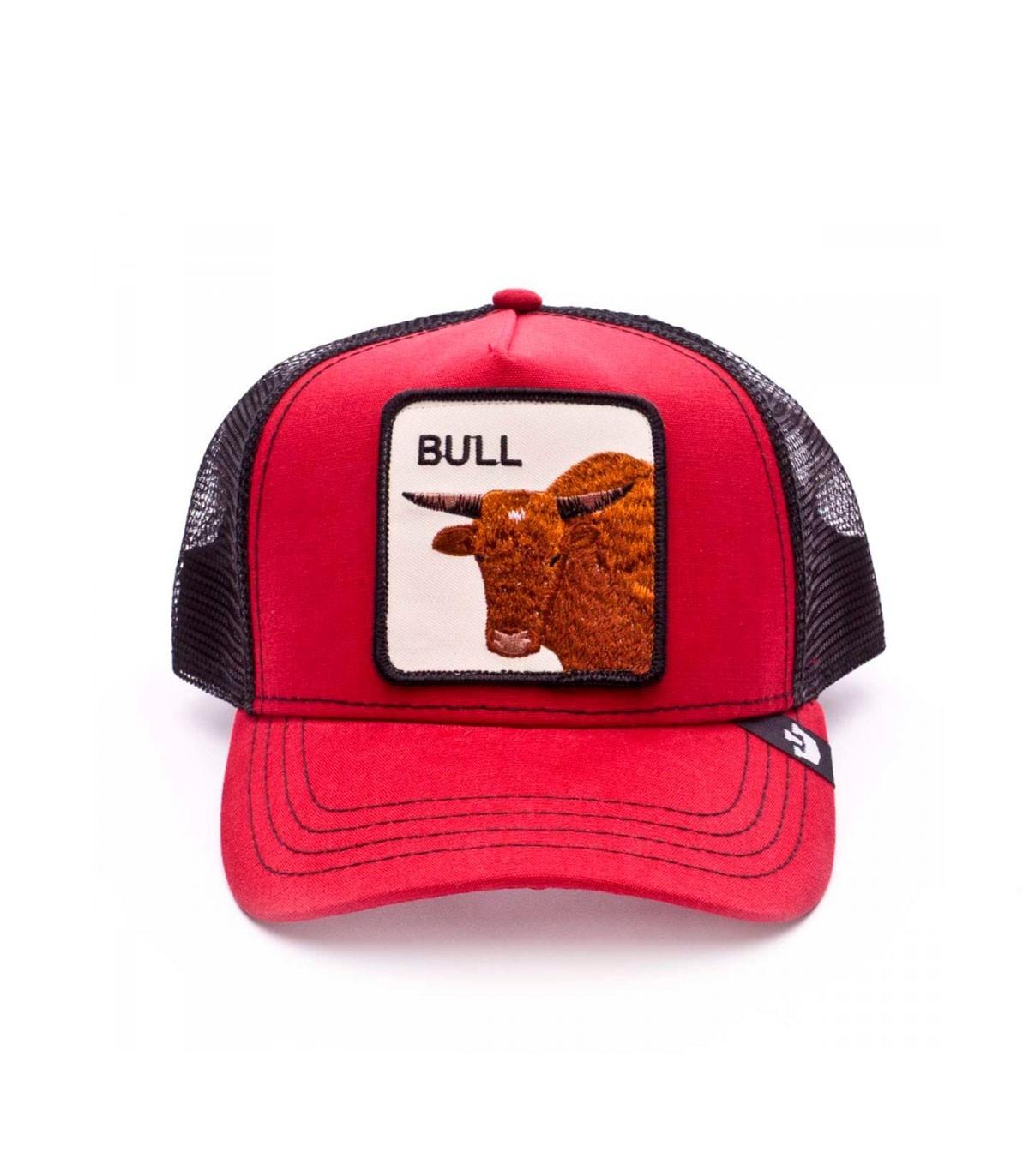 7fb7bdad ... Casquette Goorin Bros Mercury Bull Rouge/Noir · Mercury Bull