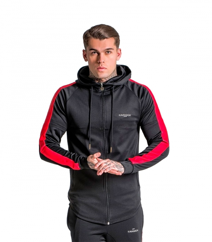 Gianni Kavanagh Jacket With Red