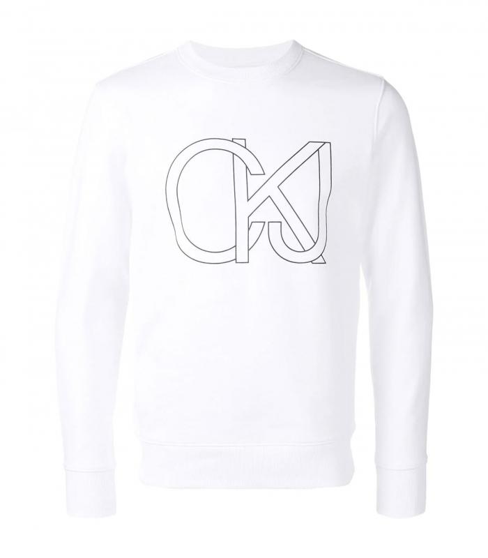 Sudadera Calvin Klein Jeans Logo Regular Crew
