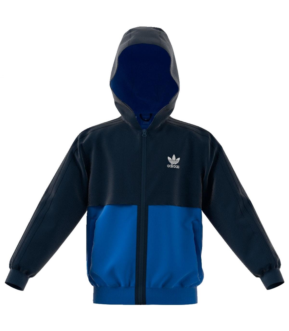 8a7b21213 Adidas Abrigo Caballero Azul