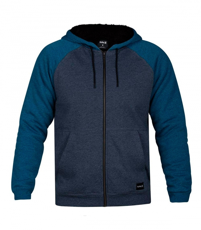 Pullover Hurley Cronie Sherpa Fz