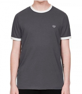 Camiseta Fred Perry Ringer Carbon