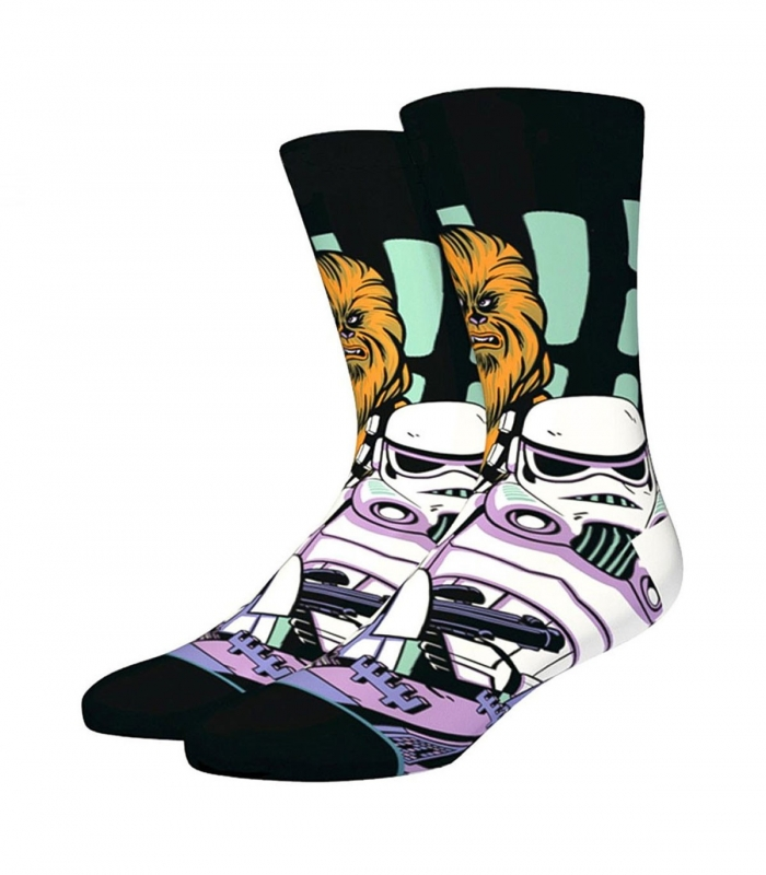 Calcetines Stance Warped ChewBacca