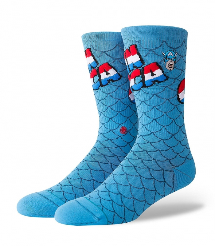 Stance Captain America Socks