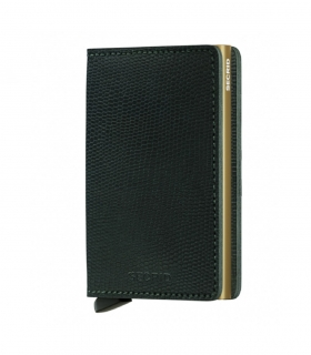 Cartera Secrid Slimwallet Rango Green Gold