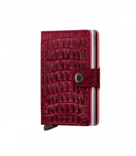 Cartera Secrid Miniwallet Nile Red