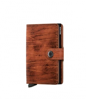 Cartera Secrid Miniwallet Dutch Martin Whiskey