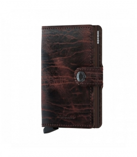 Cartera Secrid Miniwallet Dutch Martin Cacao-Brown