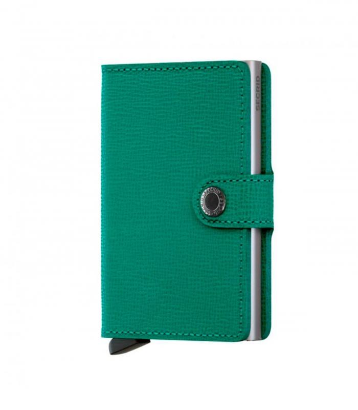 Cartera Secrid Miniwallet Crisple Emerald