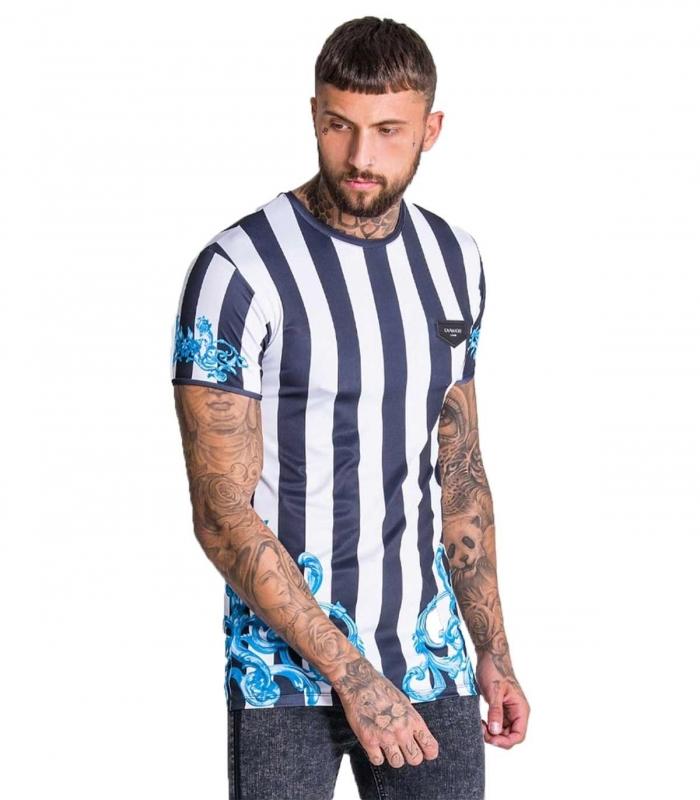 Camiseta GK Striped BW Tee