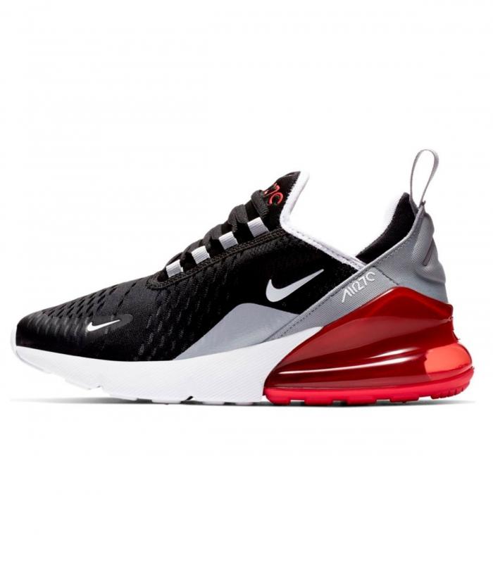 Sneaker Nike Zapatilla Nike Air Max 270 Gs 40 Negro