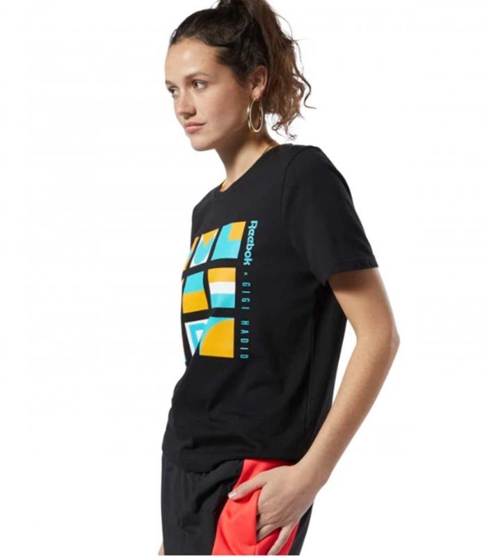 Camiseta Gigi Reebok Negra