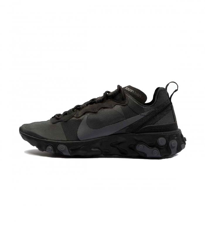 Zapatilla Nike React Element 55 Negro