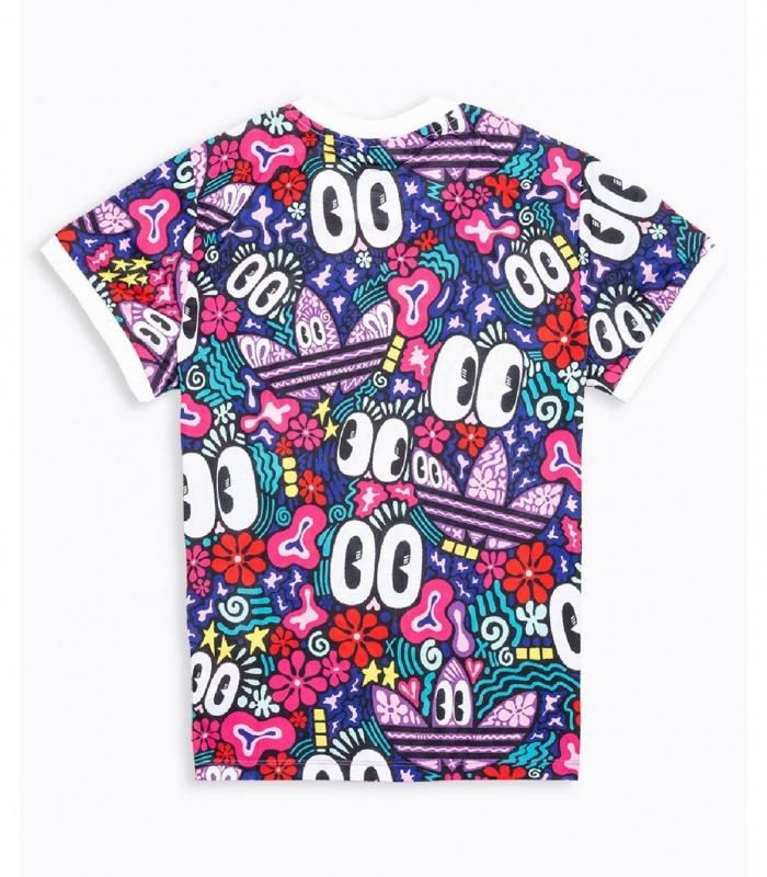 Camiseta Adidas 3 Stripes