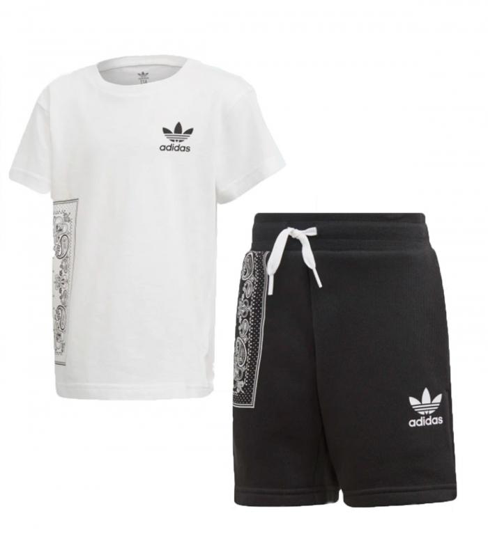 Conjunto Adidas Bamdana Tee Set