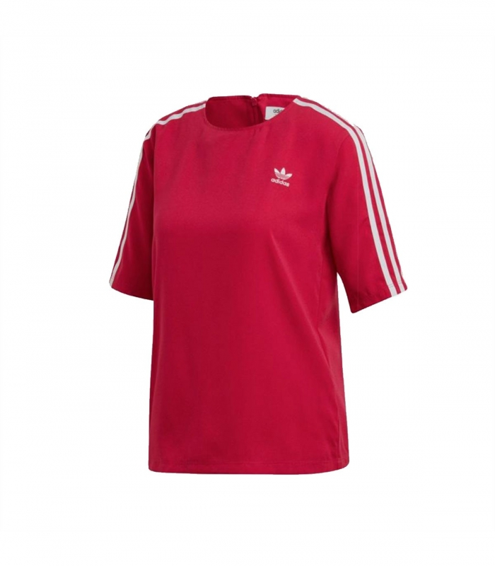 Camiseta Adidas 3 Bandas Burdeo