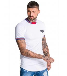 Camiseta GK White Personalixed Rib Tee