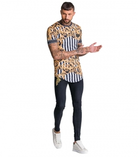 Camiseta GK Baroque and Stripe