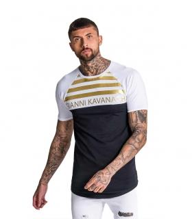 Camiseta GK White-black Tee With Gold