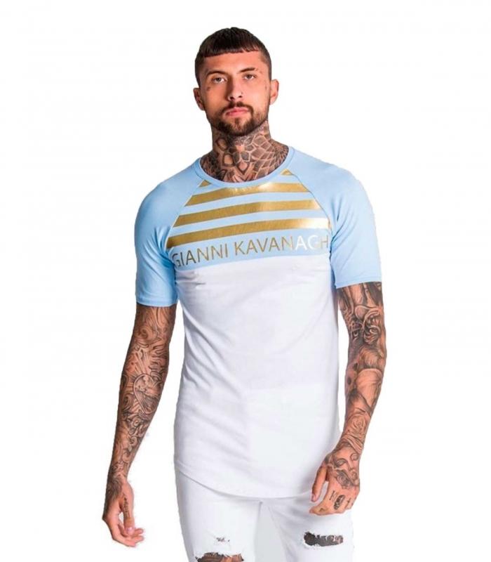 Camiseta GK Light Blue-White Gold
