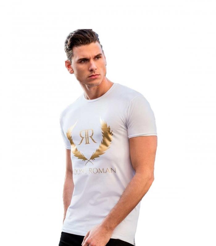 Camiseta RR White Gold