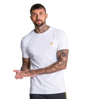 Camiseta GK White Tee With Gold